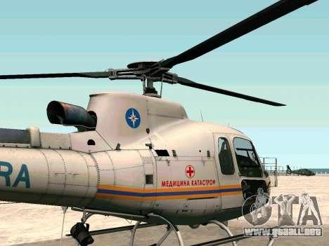 Bo 105 EMERCOM de Rusia para GTA San Andreas left