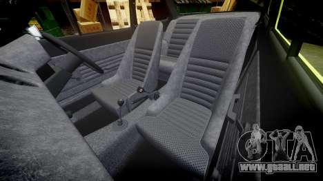 Ford Escort RS1600 PJ44 para GTA 4 vista lateral