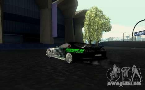 Toyota Supra VCDT para GTA San Andreas left
