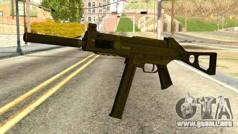 UMP45 from Global Ops: Commando Libya para GTA San Andreas