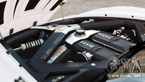 Aston Martin One-77 2010 [EPM] para GTA 4 visión correcta