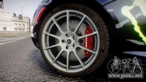 McLaren P1 2014 [EPM] Ken Block para GTA 4 vista hacia atrás