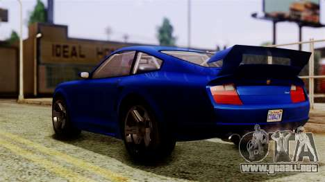 GTA 5 Pfister Comet SA Mobile para GTA San Andreas left