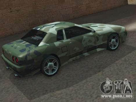 Elegy GTR para GTA San Andreas left