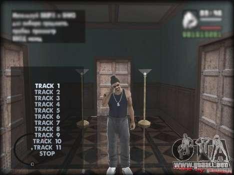 MP3 Player MOD para GTA San Andreas