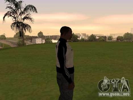 Adidas Honduras Track Jacket para GTA San Andreas tercera pantalla