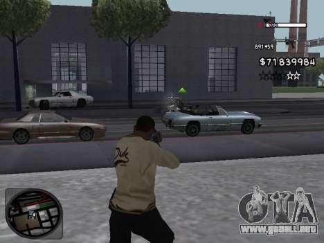 C-HUD White para GTA San Andreas