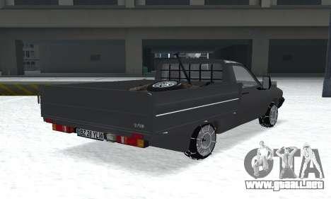 Dacia 1305 Papuc Pick-Up Drop Side 1.9D para GTA San Andreas left