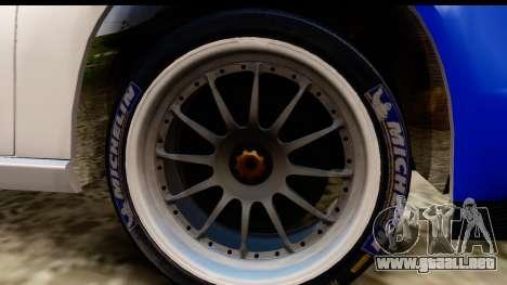 Ford Focus para GTA San Andreas vista hacia atrás
