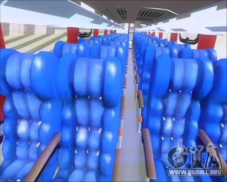 Busscar Vissta Buss LO Cometa para visión interna GTA San Andreas