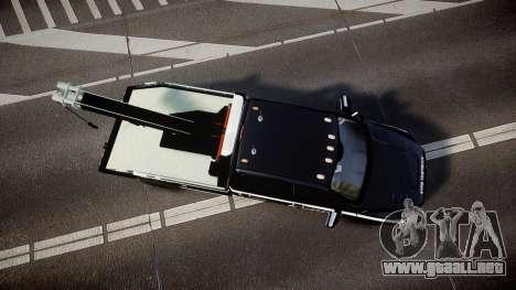 Dodge Ram 3500 NYPD [ELS] para GTA 4 visión correcta