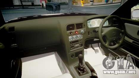 Nissan Skyline R33 GT-R V.spec 1995 para GTA 4 vista interior