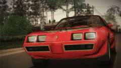Pontiac Turbo Trans Am 1980 Bandit Edition para GTA San Andreas