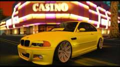 BMW M3 Coupe Tuned para GTA San Andreas