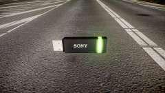 Unidad flash USB de Sony verde
