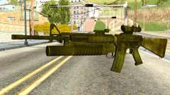 Assault Rifle from Global Ops: Commando Libya para GTA San Andreas
