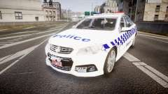 Holden VF Commodore SS Victorian Police [ELS] para GTA 4