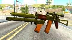 Canarias (el Ejército de estados unidos) para GTA San Andreas