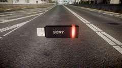 Unidad flash USB de Sony roja