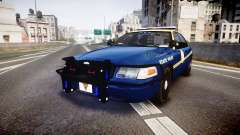 Ford Crown Victoria Virginia State Police [ELS] para GTA 4