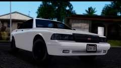 Civillian Vapid Stanier II from GTA 4 IVF para GTA San Andreas