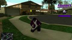 C-HUD Diamond Gangster para GTA San Andreas