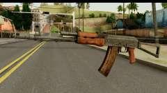 AKS-74 de Madera Oscura para GTA San Andreas