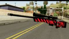 Red Tiger Sniper Rifle para GTA San Andreas