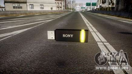 Unidad flash USB de Sony amarillo para GTA 4