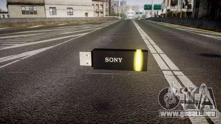 Unidad flash USB de Sony amarillo para GTA 4