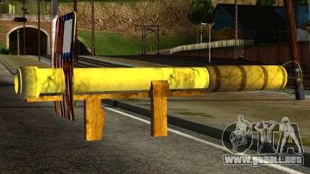 Firework Launcher from GTA 5 para GTA San Andreas