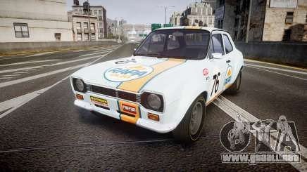 Ford Escort RS1600 PJ76 para GTA 4