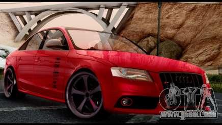 Audi S4 2010 Blacktop para GTA San Andreas