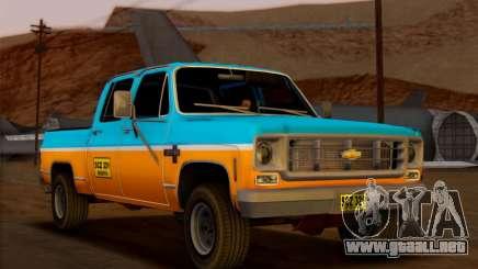 Chevrolet Custom Deluxe para GTA San Andreas