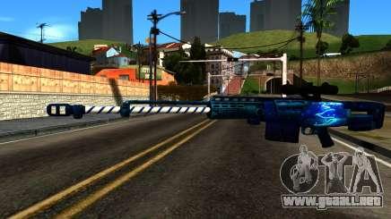 New Year Sniper Rifle para GTA San Andreas