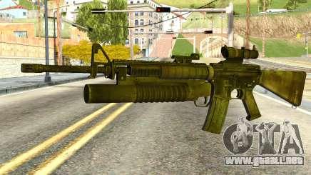 Assault Rifle from Global Ops: Commando Libya para GTA San Andreas