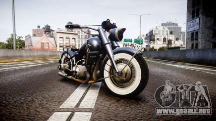 BMW R75 black-and-whites tires para GTA 4