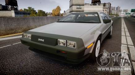 DeLorean DMC-12 [Final] para GTA 4