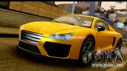 GTA 5 Obey 9F Coupe para GTA San Andreas