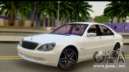 Mercedes-Benz S600 AMG para GTA San Andreas