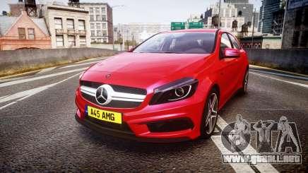 Mersedes-Benz A45 AMG para GTA 4