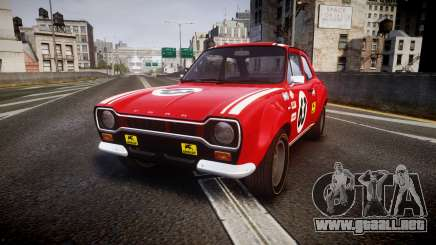 Ford Escort RS1600 PJ63 para GTA 4