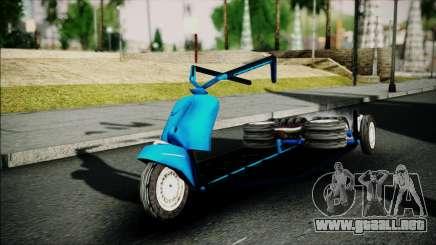 Vespa Gembel Extreme para GTA San Andreas