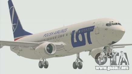 Boeing 737-800 LOT Polish Airlines para GTA San Andreas