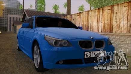 BMW 520i E60 para GTA San Andreas