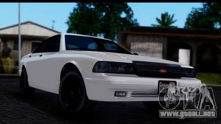 Civillian Vapid Stanier II from GTA 4 IVF para GTA San Andreas