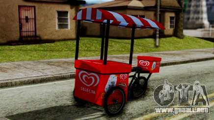 Selecta Ice Cream Bike para GTA San Andreas