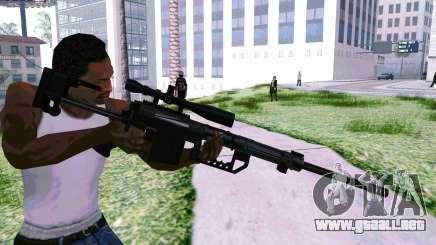 Cheytac M200 Black para GTA San Andreas