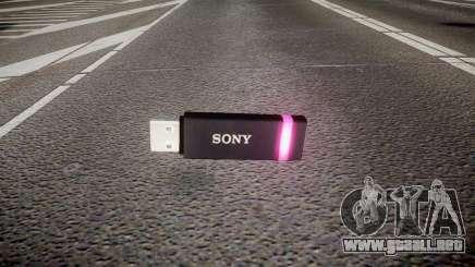 Unidad flash USB de Sony púrpura para GTA 4