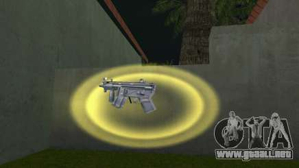 Mp5 Short para GTA Vice City